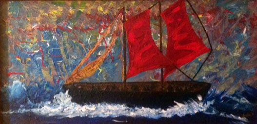 Red Sails Fleeing