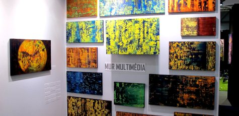 Frederic Caillard - art3f - Mur-multimedia-vl