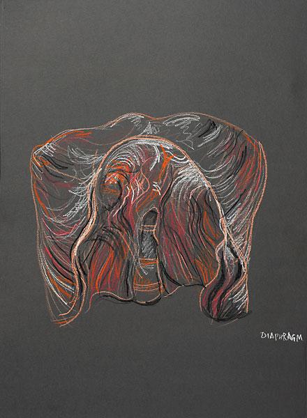 Diaphragm, 2009, by Fred Hatt