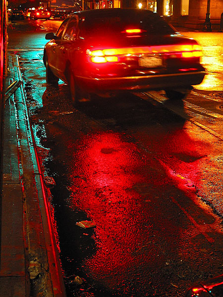 Tail Light, 2003, photo by Fred Hatt
