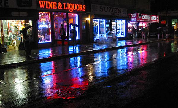 Wine & Liquors, 2003, photo by Fred Hatt