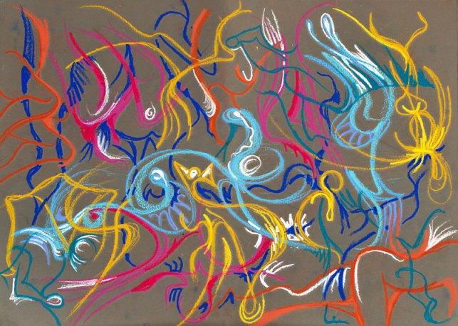 Cross Pollination 01, August 2009, by Fred Hatt