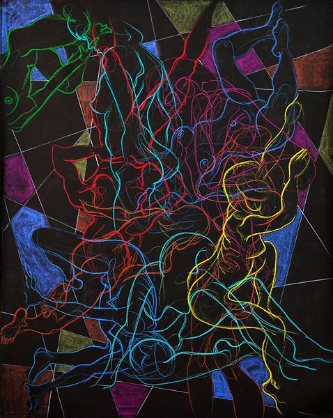 Edges, 2009, by Fred Hatt