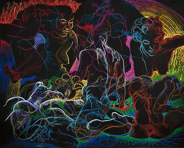 Seer, 2009, by Fred Hatt