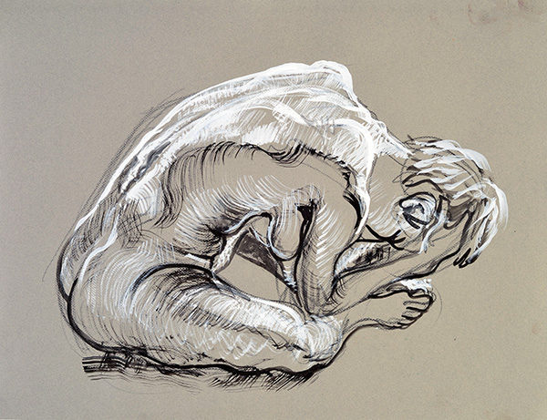 Folding Forward, 2013, by Fred Hatt