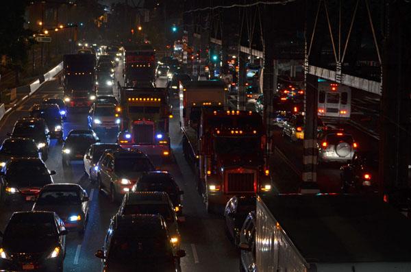 Queensboro Bridge Onramp, 2012, photo by Fred Hatt