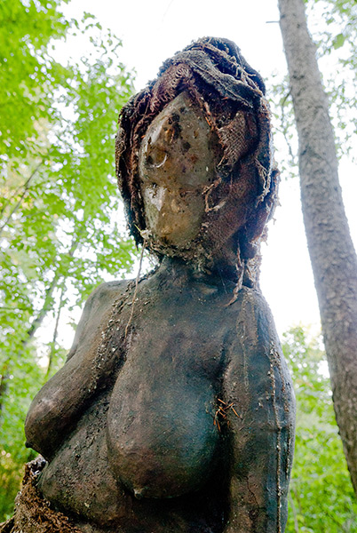 The Watcher, upper body, 2009, photo by Fred Hatt
