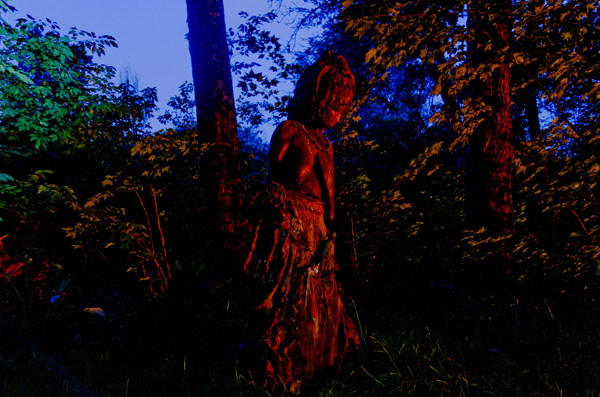 The Watcher at Night, 2013, photo by Fred Hatt