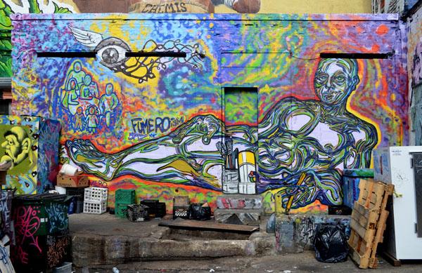 Mural by Fumero, 5 Pointz, photo by Fred Hatt