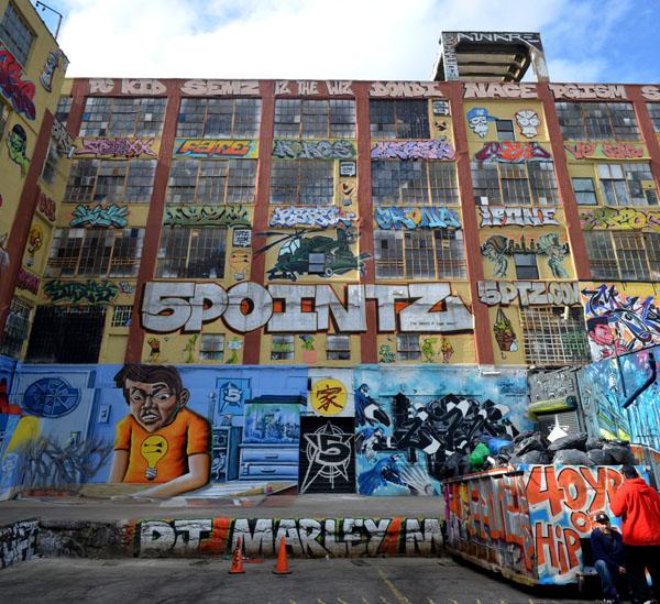 5 Pointz Loading Dock Area, photo by Fred Hatt