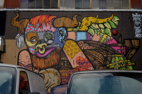 Mural by Rimx & Nepo, 5 Pointz, photo by Fred Hatt
