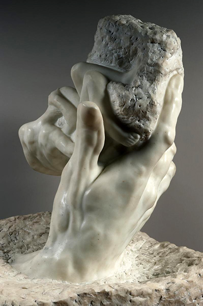 The Hand of God, 1896, by Auguste Rodin