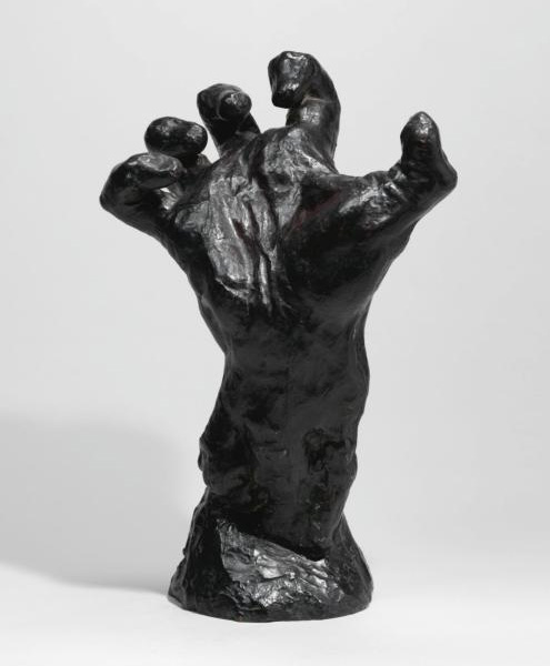 Clenched Hand, 1885, by Auguste Rodin