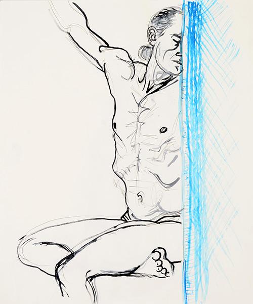 Behind the Door, 2013, by Fred Hatt