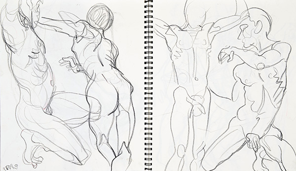 Dancer, 2013, by Fred Hatt