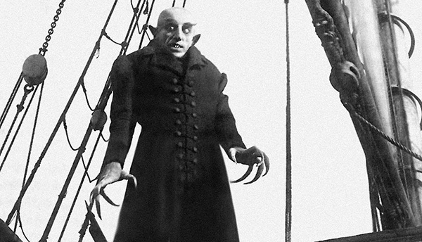 "Still from ""Nosferatu, eine Symphonie des Grauens"", 1922 film directed by F. W. Murnau"