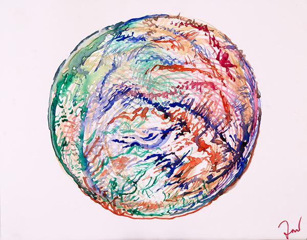 Orb, 2014, by Fred Hatt