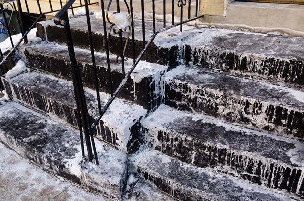 Salt Stains, 2014, photo by Fred Hatt