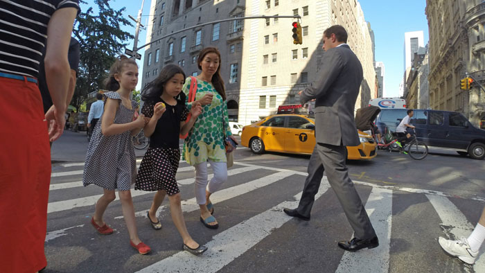 Crosswalk, 2014, photo by Fred Hatt