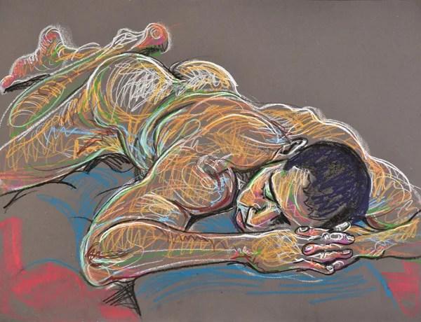 Laced Fingers, 2014, by Fred Hatt