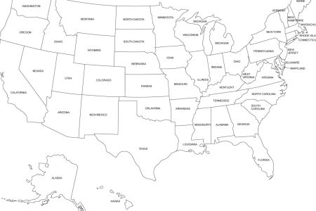 pin blank printable map of the usa united states america