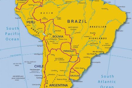 Map Of Major Rivers In South America - Argentina map rivers