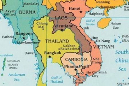 map of southeast asia and the south pacific political 4