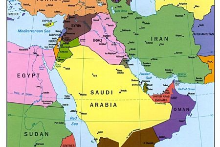 Ideas Map Of The Middle East And Egypt On Emergingartspdxcom - Map of egypt and middle east