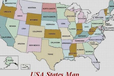 map of us without state names
