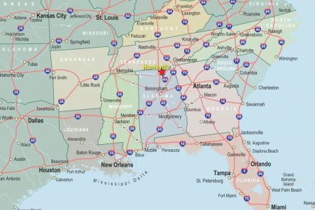 pin southeast states and capitals map image search results