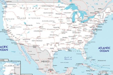 road map of the united states with pictures 3