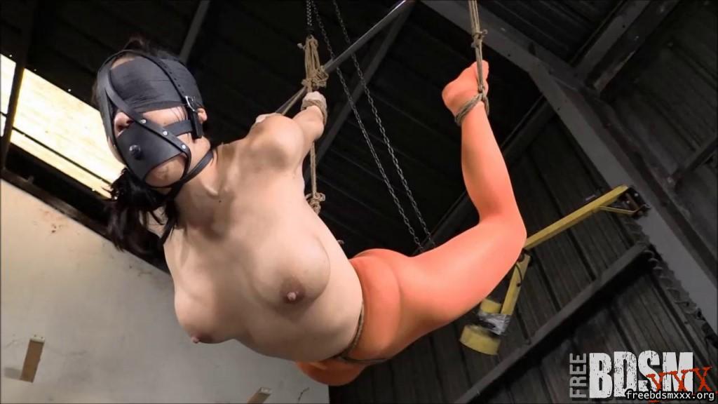 girls in strappado bondage