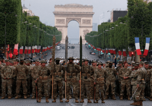 American Troops to Lead France s Bastille Day Parade