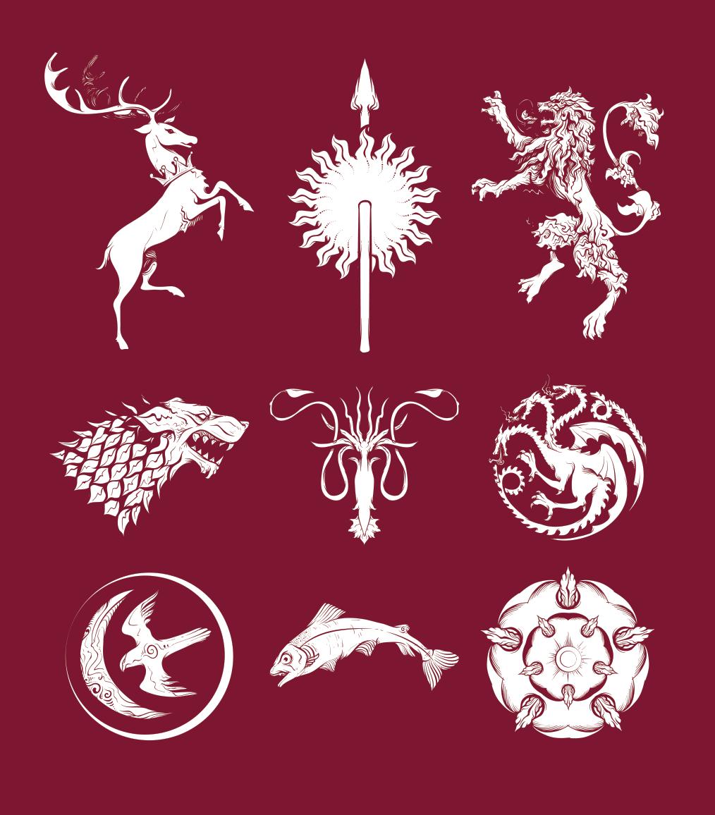 Game Of Thrones Sigil Pack – Exclusive Freebie