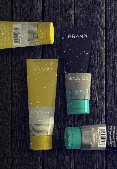 Realistic Cosmetics Packaging – Free Mock-up