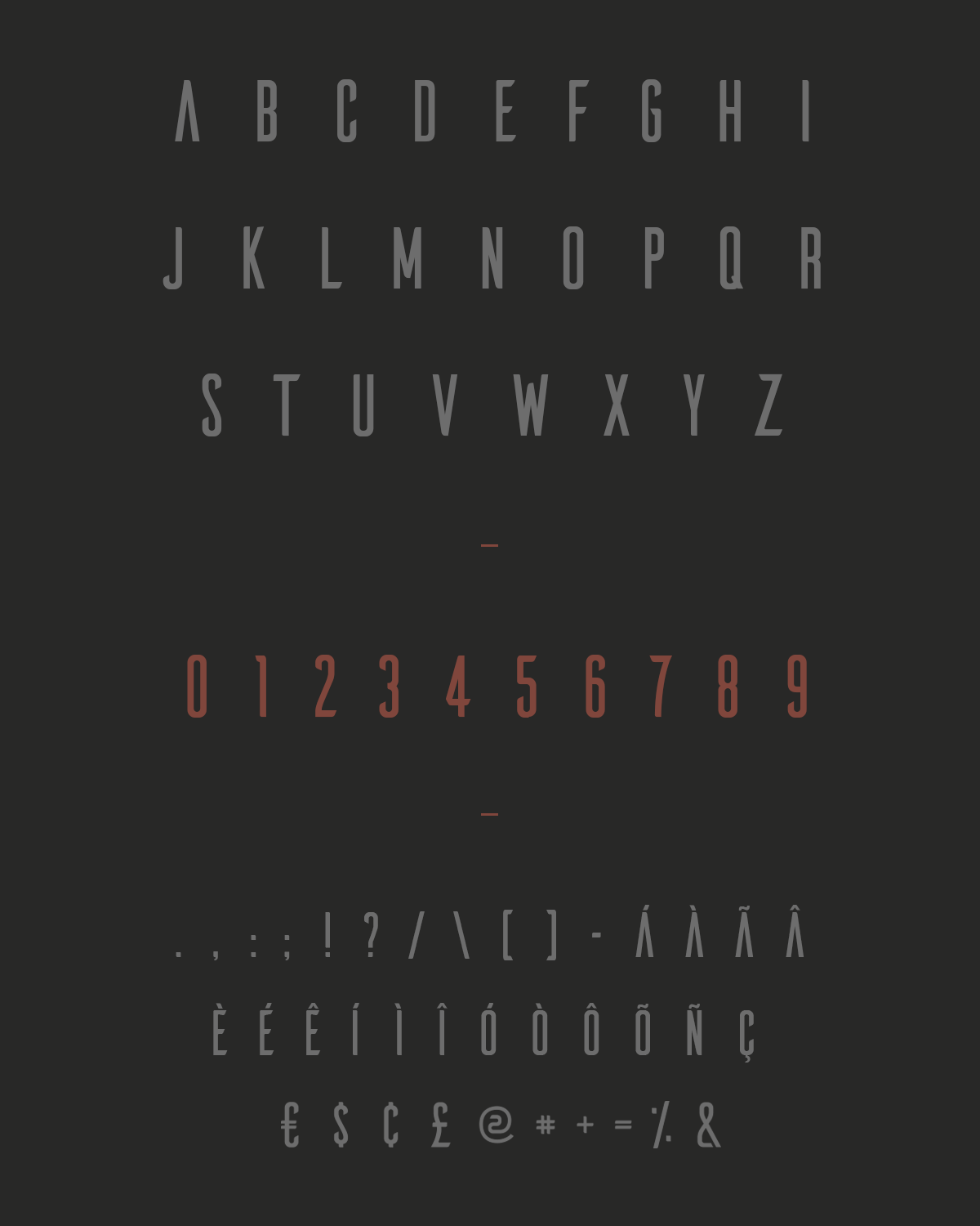 ailerons typeface