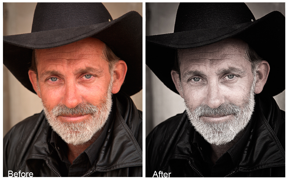 Free Portrait Photoshop Action