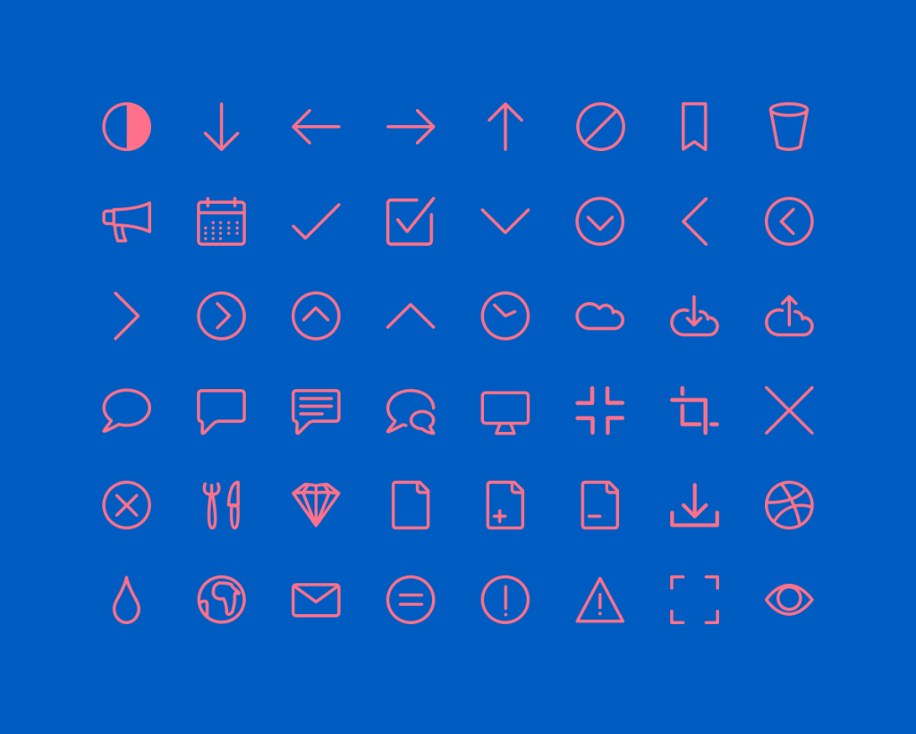 Rivolicons Free Line Icons