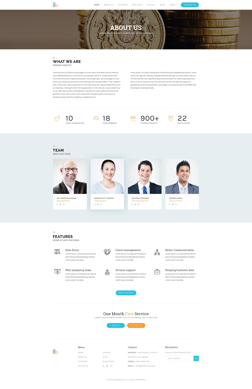 Bplus - Business Free PSD