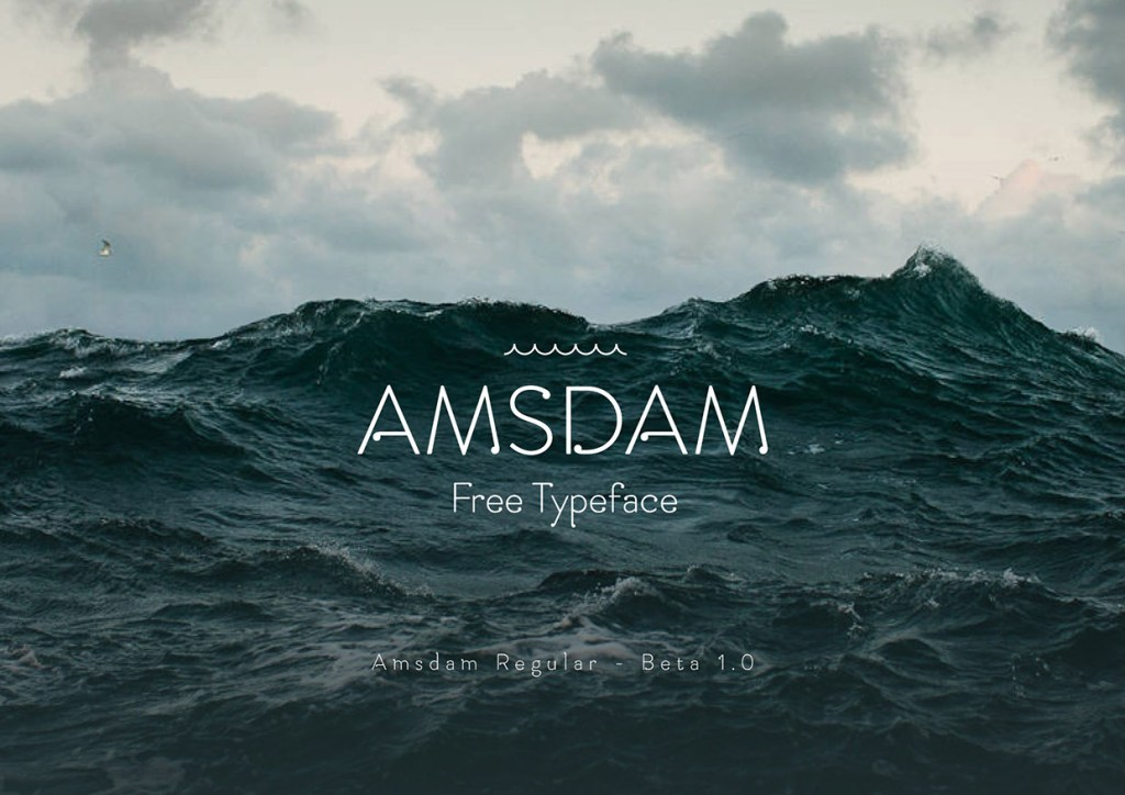 Amsdam Free Typeface