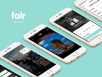 Fair Mobile UI Kit: 8 Free App Screens