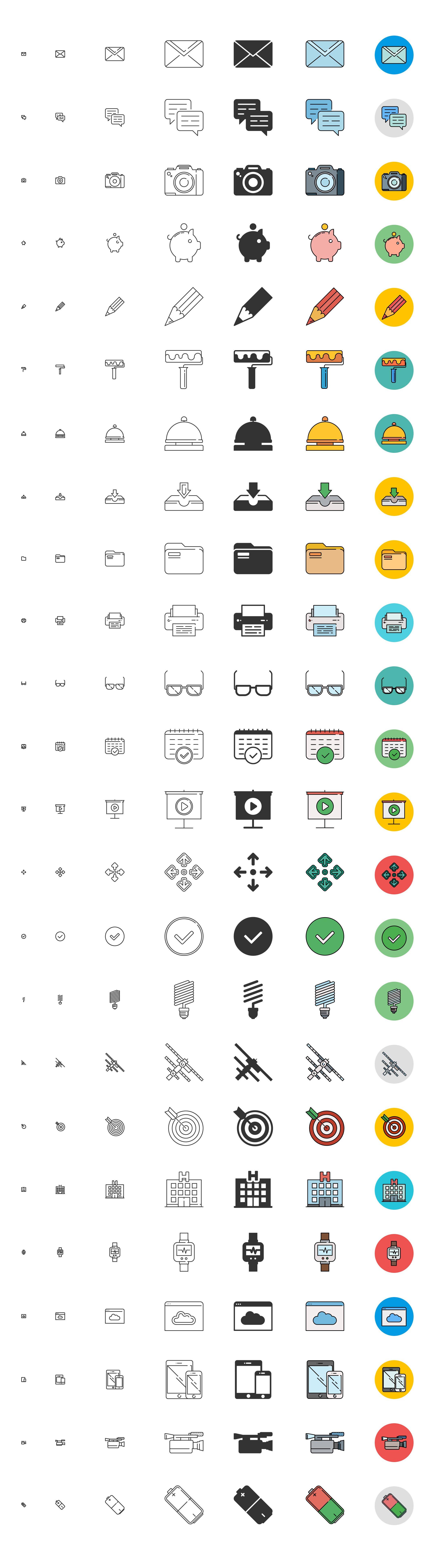 Free-responsive-icons-set