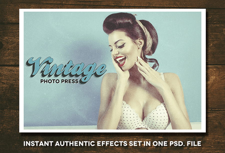 Free Vintage Photo Press Kit