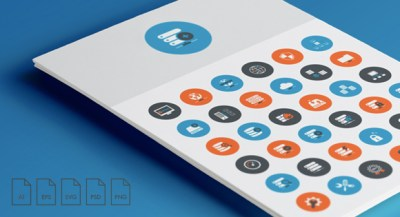 Freebie Web Hosting and Technical Support Icons