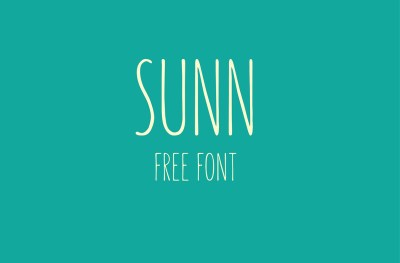 SUNN – Free Handwriting Font