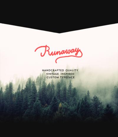 Runaway Free Font