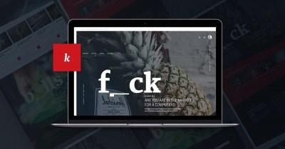 Free Unique Magazine PSD Website Template