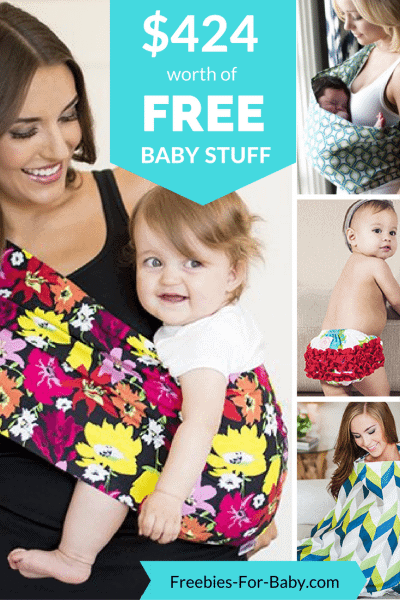 $424 worth of FREE Baby Stuff at Freebies-For-Baby.com