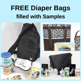 Free Diaper Bags filled with Baby Samples