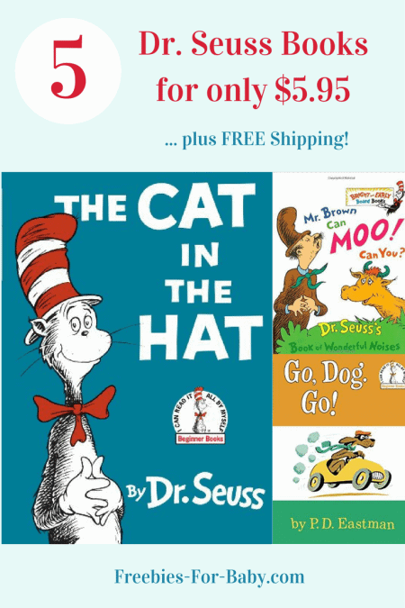 Dr. Seuss Book Club - 5 Seuss Books shipped for only $5.95 ($49.95 value)